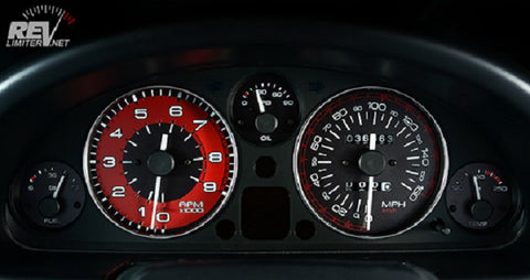 'Burnout' Gauges by RevLimiter - Gauge Cluster Kit (NA/NB 1989-2004)