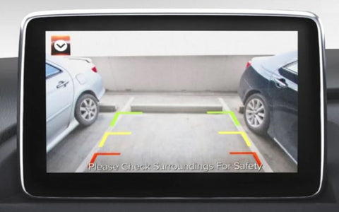 Screen Integrated Reverse Parking Camera Kit (ND 2015-2018)