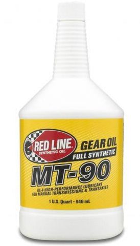 Redline MT-90 75w90 GL-4 Oil Quart (946ml)