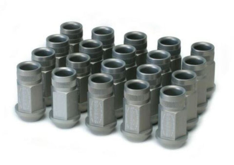 Skunk2 Forged Lug Nut Set  20 Pieces M12x1.5 Silver (NA/NB/NC/ND)