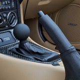 Textured Black Handbrake Handle - Voodoo (NA/NB 1989-2004)