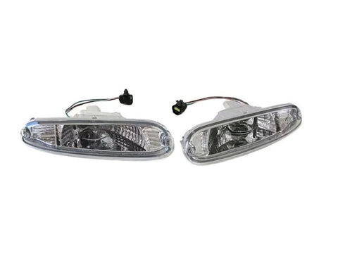 Clear Front Indicators / Turn Signals - Pair (NA 1989-1997)