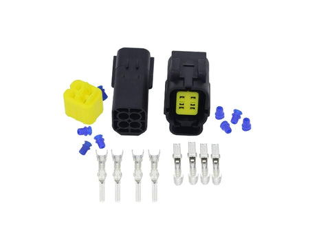 4 Pin Plug/Connector Set Male/Female (For Oxygen Sensor)