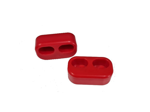 Red Door Bushes (pair) - Solid Door Bush (NA/NB/NC/ND/124 Spider)