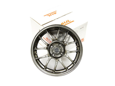 949 Racing 6UL Wheels - 4pc - 15x7 - 4x100 - ET24 - 5.9KG - Tungsten