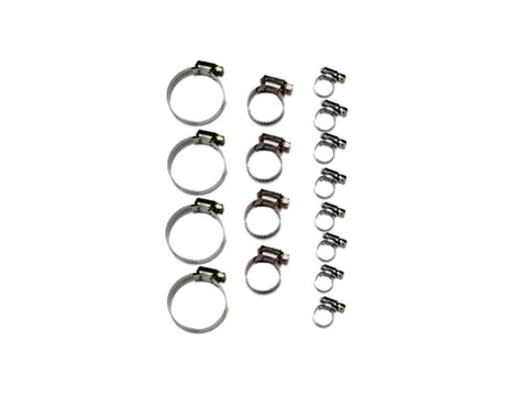 Hose Clamp Kit Solid Band 16 Piece (NB 1998-2004)