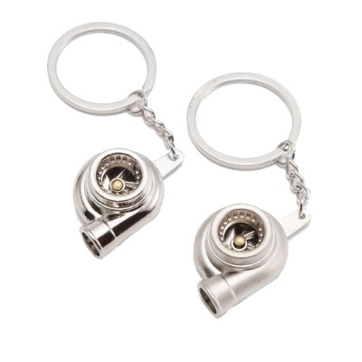 Key Ring - Turbo (Silver or Chrome)