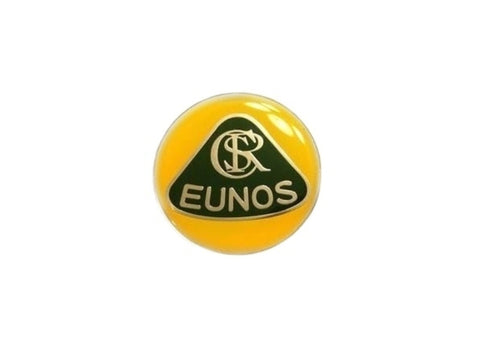 Zoom Engineering Lotus Style 'Silver Font' Eunos Badge (Metal)