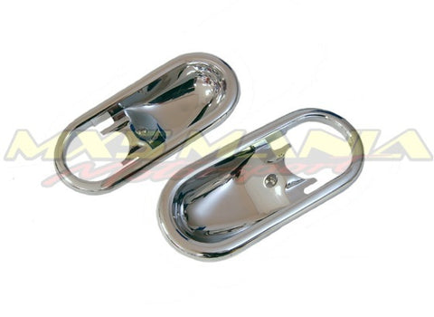 Chrome Door Handle Cups (NA)