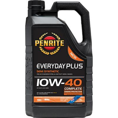 Penrite Everyday Plus 10w40 Semi Synthetic Oil (5L)