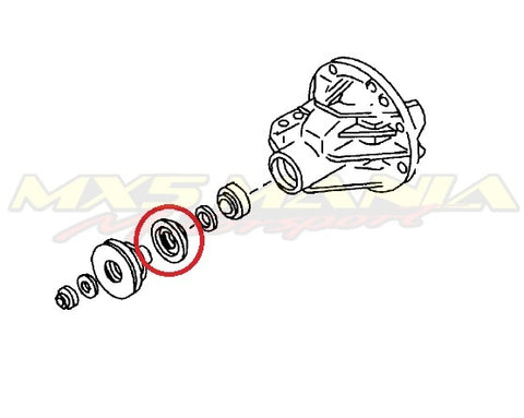 Front Diff Oil Seal (NA/NB 1.8L)