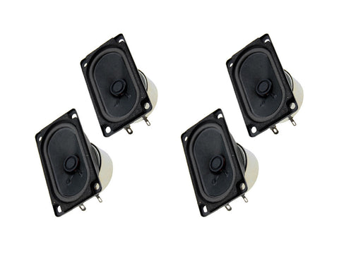Headrest Speaker Replacements [Set of 4] (NA 89-97)