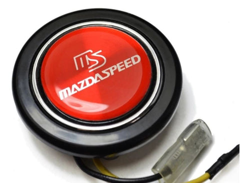 Horn Button - Universal with Red Mazdaspeed Logo (NA/NB 1989-2004)