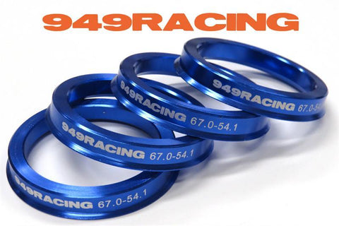"949 Racing 6UL - Hub Rings for 15"" Wheels - 67.1 Bore - 56.1 (Suit Honda/Mini)"