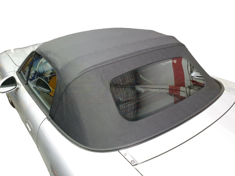 Soft Top Skin - Saddle Vinyl - 1 Piece w/Demisted Glass (NA/NB)