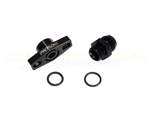 Turbo Drain Adaptor 38mm with Straight Fitting (-8/-10) - ProFlow