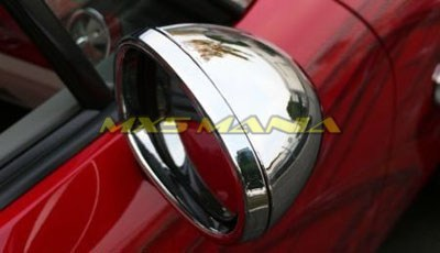 Chrome Side Mirror Covers (NC1 2005-2008)