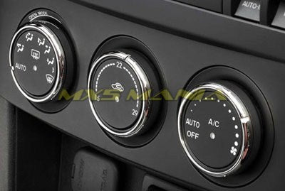 Heater Control Knob Rings (NC1 2005-2008)