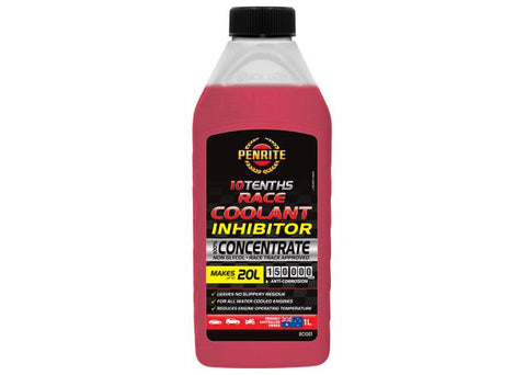 10 TENTHS Race Coolant Inhibitor Red 1 Litre
