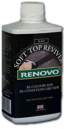 Canvas Soft Top Reviver Black (Renovo)