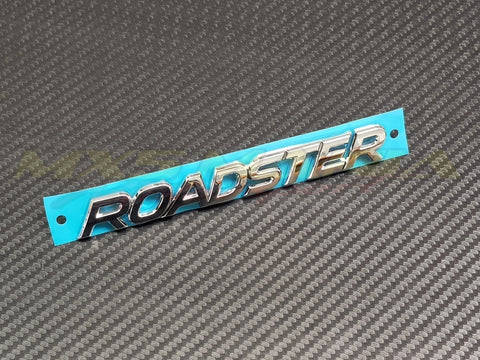Rear ROADSTER Badge Chrome (ND 2015>)