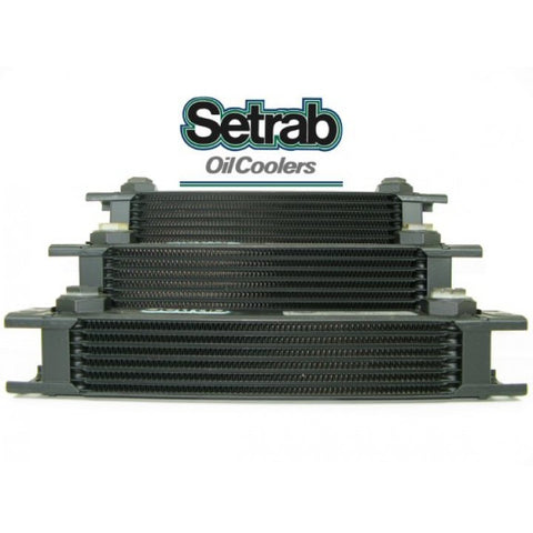 "Seteab Oil Cooler 10 row - ""Wide"" - 300mm Across"