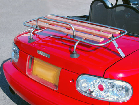 """Retro Look"" Boot Rack In Stainless & Wood (NA/NB 1989-2004)"