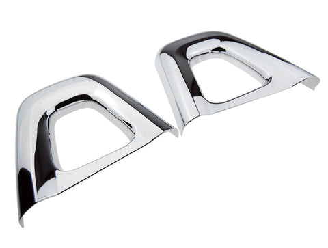 Chrome / Brushed Silver Hoop Bar Covers (ND 2015>)