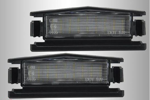 LED Smoked Rear Number Plate Light Set [Pair] (ND 2015-2020 / Abarth 2016-2018)