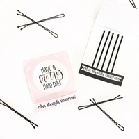 Travel Pack Bobby Pin Set for Oh Shit Kits and Hangover Kits or Travel Bags Bachelorette Party Favors Pretty Hair
