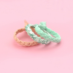 Everyday Braided Hair Ties in 24 colors to choose from
