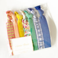 Everyday Favorite Hair Ties Set of 7 - Garden Party