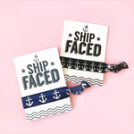 1 Hair Tie on Ship Faced Card for Party Favors
