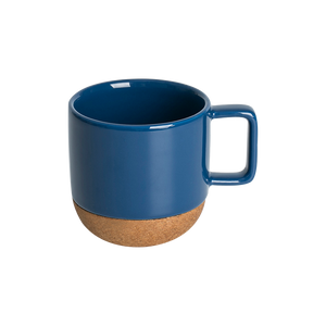 Wood Base Ceramic Mug
