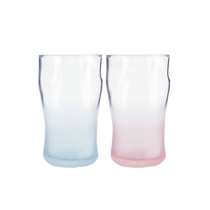 Japanese Color Gradient Glassware - Set of 2