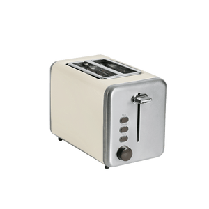 2-Slice Classic Metal Toaster