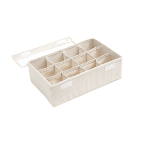 Linen Storage with Lids & Partitions