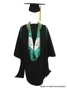 Masters Cap & Gown Unit