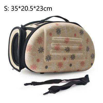 Pet Carrier Foldable Handbag