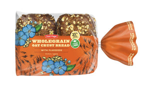 Wholegrain Oat Crust Bread 340g (6x57g)/12oz(6x2oz)