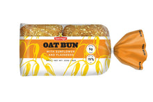 Load image into Gallery viewer, Oat Bun Sandwich 220g    (4x55g)/ 8oz(4x2oz)