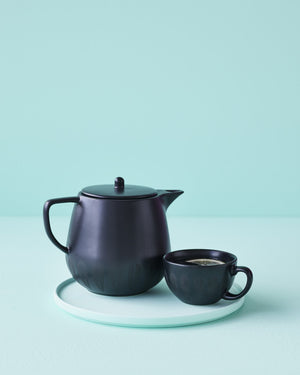 Lotus I Teacup Black