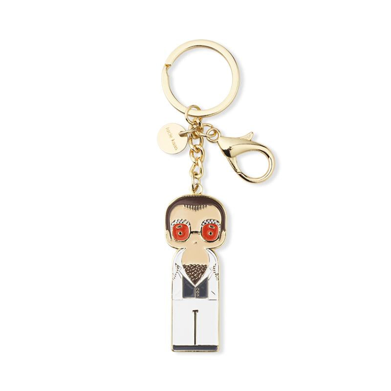 Keychain I Elton in White