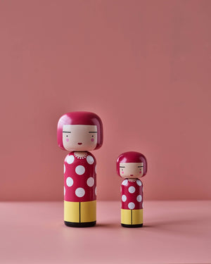 Kokeshi Doll I Dot Large