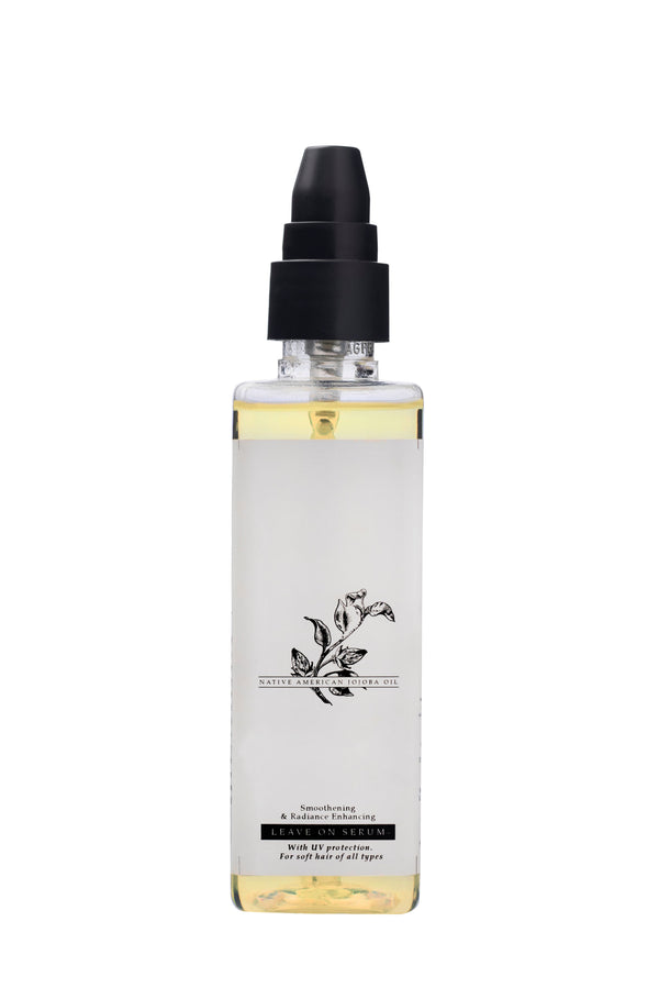 Native American Jojoba Oil Smoothening & Radiance Enhancing Leave On Serum For straight & wavy hair