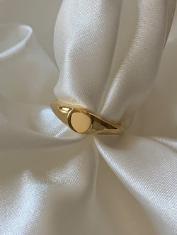 Thin Signet Ring