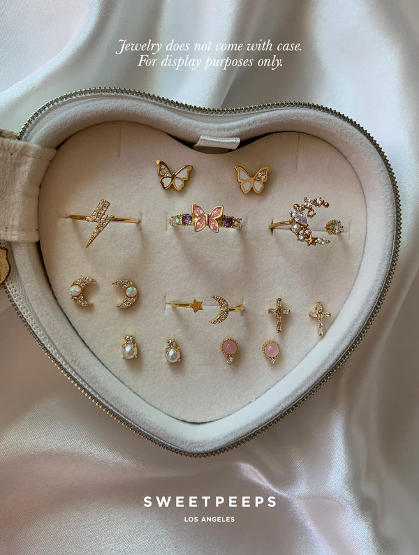 Heart Jewelry Case