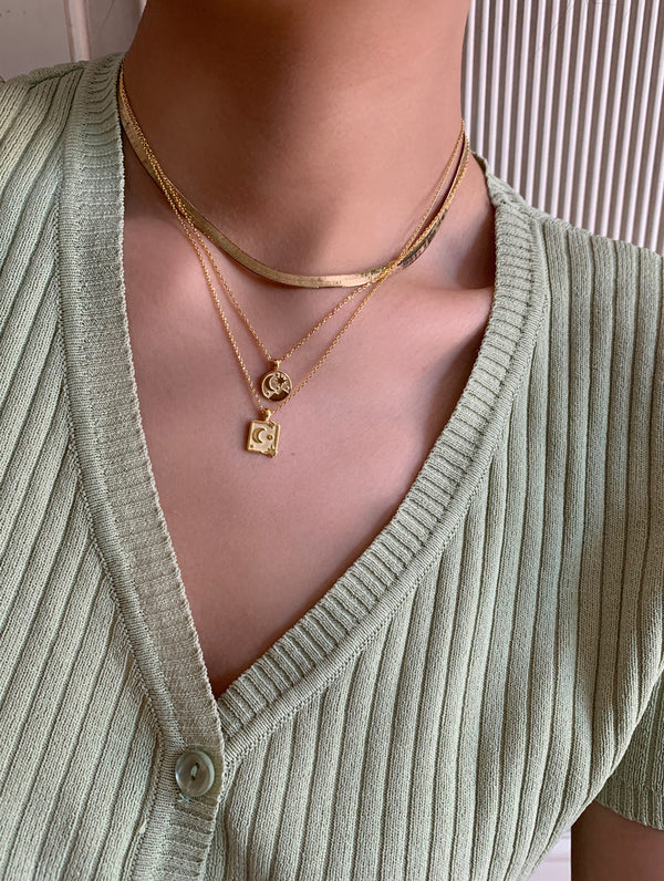 18K Gold Dipped Magic Pendant Necklace