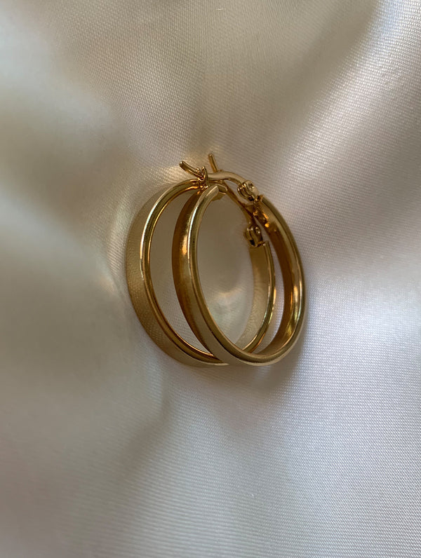 Hailey Gold Hoops (SS)