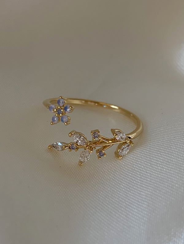 Flower Leaf Ring (FL)